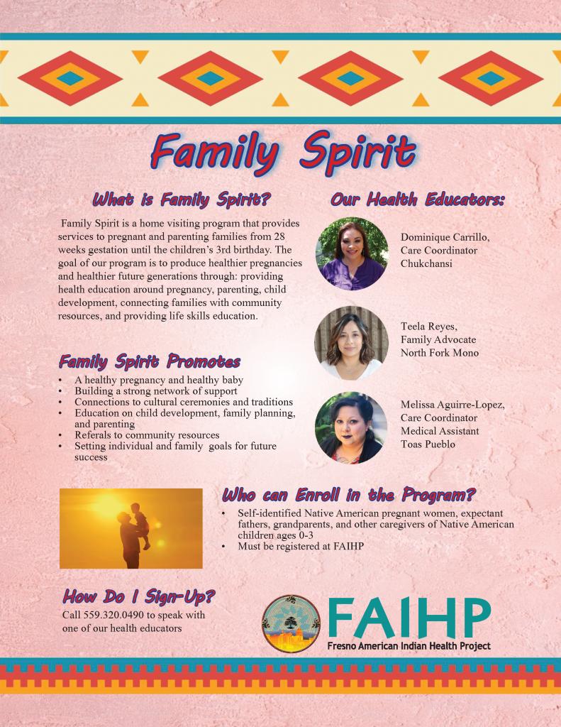 Family Spirit flyer 2-1
